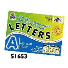 2 Self-adhesive Letters Blue