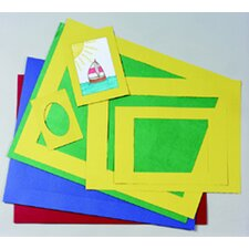 <strong>Pacon Corporation</strong> Pre-cut Mat Frames 60 Assorted
