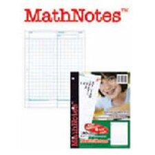 Mathnotes White 150 Ct 8.5 X 11 in