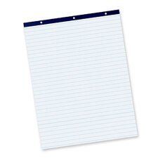 "<strong>Pacon Corporation</strong> Easel Pad, Perforated, 1"" Ruled, 27x34"", 50 Sheets, White"