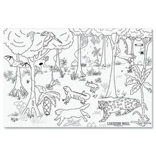 Rain Forest Learning Walls Paper