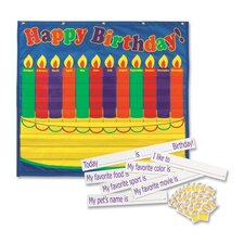 <strong>Pacon Corporation</strong> Birthday Pocket Chart