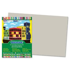 Riverside Construction Paper, 76 Lbs., 12 X 18, 50 Sheets/Pack