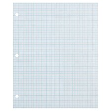 80 Sheet Ecology Recycled Quad Ruled Paper