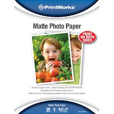<strong>Paris Business Products</strong> Double Sided Photo Paper