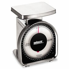 <strong>Pelouze Manufacturing Company</strong> Heavy-Duty Mechanical Package Scale, 50lb Capacity, 6 x 4-3/4 Platform