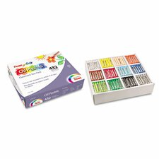 <strong>Pentel of America, Ltd.</strong> Oil Pastel Set With Carrying Case,12-Color Set, Assorted, 432 per set