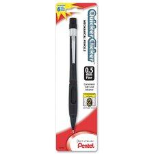 Transparent Quicker Clicker Automatic Pencil (Set of 6)