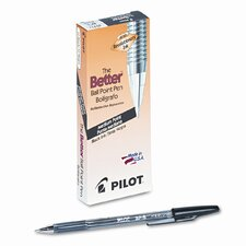 Better Ballpoint Stick Pen, Medium, 12/Pack