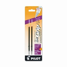 Refill, Better / Easytouch / Dr Grip Retract Ballpoint, Fine Tip, 2/Pack