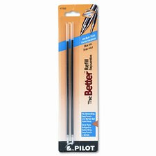 Refill, Non-Retract Better / Bettergrip / Easytouch Ballpoint, Medium, 2/Pack