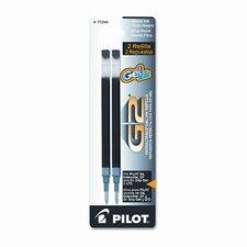 Refill for G2 Gel, Dr. Grip Gel / Ltd, Execugel G6, Q7, Fine Tip, 2/Pack