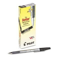 <strong>Pilot Pen Corporation of America</strong> Better Ballpoint Stick Pen, Fine, 12/Pack