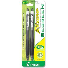 2 Count RexGrip Begreen® Ballpoint Retractable Pen