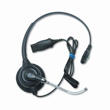 Supraplus Monaural Over-The-Head Wideband Headset