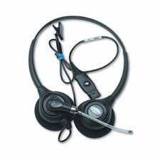 Supraplus Binaural Over-The-Head Wideband Headset
