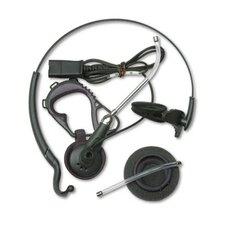 Duoset Monaural Convertible Telephone Headset with Clear Voice Tube