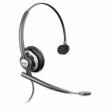 EncorePro Monaural Over-the-Head Headset w/Noise Canceling Microphone