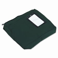 Expandable Dark Green Transit Sack, 14w x11h x3d