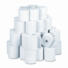 "Specialty Thermal Cash Register Rolls, 3-1/8""w, 273'l, White, 50/carton"
