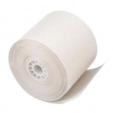 Paper Roll, One-Ply Recycled Receipt Roll, 100/Carton