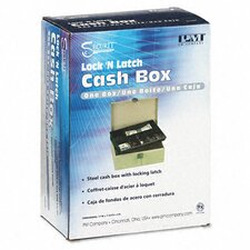<strong>PM Company</strong> Securit Lock'N Latch Steel Cash Box