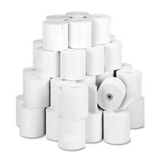 "<strong>PM Company</strong> Specialty Thermal Cash Register Rolls, 3-1/8""w, 273'l, White, 50/carton"