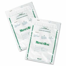 Securit Biodegradable Plastic Money Bags, 50/Pack