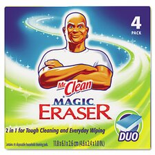 <strong>Procter & Gamble Commercial</strong> Mr. Clean Magic Eraser Duo Pad, 4/Box