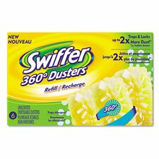 Swiffer 360 Duster Refill, 6/Box