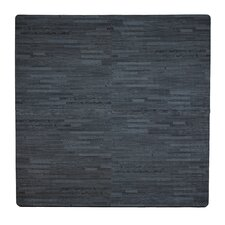 12 Piece Wood Grain Playmat
