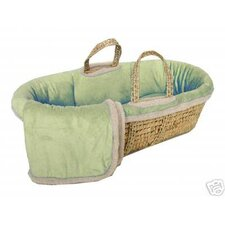 Micro-Suede Moses Basket Set