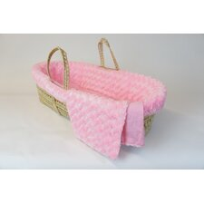 Twisted Fur Moses Basket Set