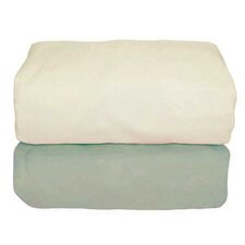 <strong>Tadpoles</strong> Arlington Organic Flannel Fitted Crib Sheet (Set of 2)