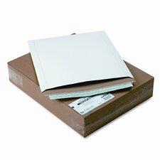 Photo/Document Mailer, Redi-Strip, Side Seam, 12 3/4 x 15, White, 25/box