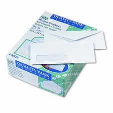 Business Window Envelope, Contemporary, #10, White, 500/box