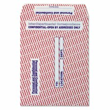 Paper Gummed Flap Confidential Interoffice Envelope, 100/Box