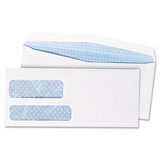 Double Window Security Tinted Envelope, 500/Box