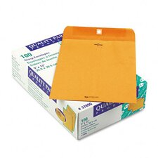 Clasp Envelope, 9 x 12, 28lb, Light Brown, 100/box