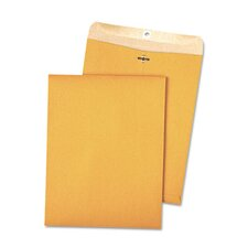 <strong>Quality Park Products</strong> 100% Recycled Kraft Clasp Envelope, 9 X 12, 100/Box