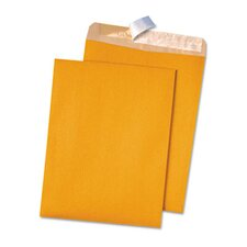 100% Recycled Kraft Redi-Strip Envelope, 9 X 12, 100/Box