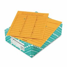 Light Brown Kraft Redi-Tac Box-Style Interoffice Envelope, 10 x 13, 100/box