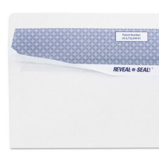 Reveal-N-Seal Business Envelope, Contemporary, #10, White, 40/box