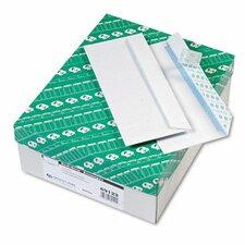 Redi-Strip Security Tinted Envelope, Contemporary, #10, White, 500/box