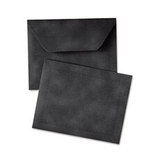 "Document Carrier, Letter, 2"" Expansion, Black, 1/ea"