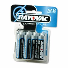 AA Alkaline Battery, 8/Pack