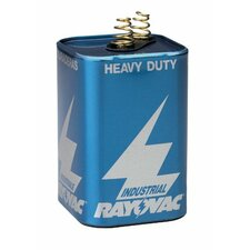 Rayovac - Lantern Batteries 42150 6V Spring Terminalbatt Indust Lant: 620-6V-Hd - 42150 6v spring terminalbatt indust lant