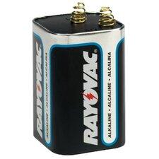Rayovac - Lantern Batteries 6-Volt Max.Alkaline Lantern Battery Spring Term.: 620-806 - 6-volt max.alkaline lantern battery spring term.