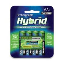 Low Discharge Hybrid™ NIMH Batteries (4 Batteries Per Package, Priced Per Battery)