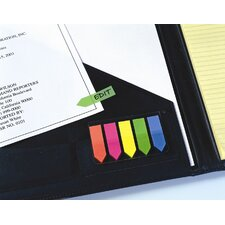 Multicolor See Notes Arrows On Clear-Clip Holder (Set of 12)